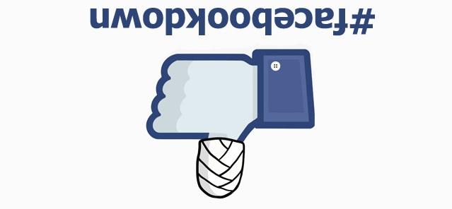#Facebookdown-Storing